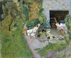 The Siesta, 1909 ~ Pierre Bonnard ~ (French: 1867-1947)