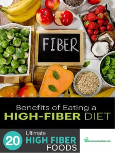 Fibers are a very important part of your nutrition because of their great benefits. Benefits of fibers and high fiber foods are essential if you want to be healthy and slim.