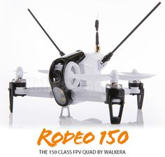 The compact FPV racer by Walkera - Rodeo 150 Underneath the beautiful canopy is a modular designed 150 class FPV racer, installed with F3 generation flight controller using CleanFlight software which is tuned and tested by Walkera factory