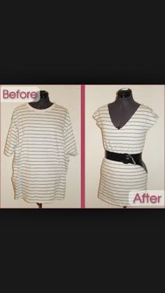 if you have an old t-shirt, don't throw it away!! Use it!!