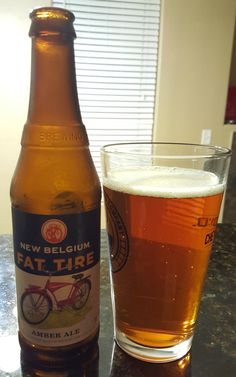 New Belgium Fat Tire is a 5.2 ABV American Amber / Red. The appearance is orange with a tinge of red and the nose biscuity malt. The flavor follows, sweet biscuit malt finishing with a fruity bitterness. Mouthfeel is smooth and moderate. This is technically a re-review though I don't think it's gone through any significant changes in the couple years since my original. It's a solid beer that will always remind me of happy Colorado memories and appreciating craft brewing for the first time.