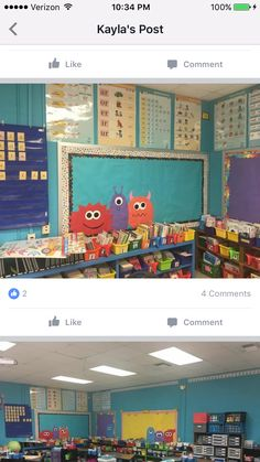 Monster Theme Classroom, Elementary Classroom Themes, Future Classroom, Classroom Decor, Bullentin Boards, Monster Book Of Monsters, Free Teaching Resources, Fun Learning, Second Grade