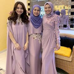Muslim Evening Dresses, Hijab Evening Dress, Hijab Dress Party, Hijab Style Dress, Modest Fashion Hijab, Muslim Fashion, Dress Outfits, Fashion Dresses, Dresses To Wear To A Wedding