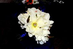 And Nothing says Southern like Magnolia's.  Our bride loved her bouquet