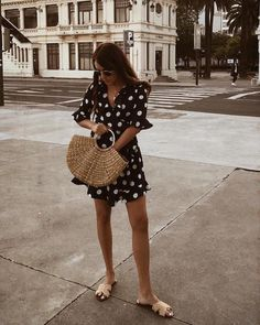 We're All About This Dotted Summer Look #summeroutfit #spring #summervibes #summerstyle #styleinspiration #musthave