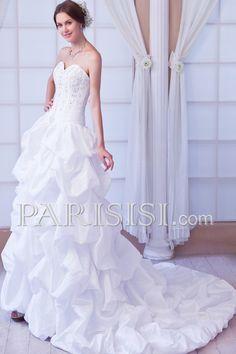 Cheap A-Line wedding dress Cute Wedding Dress, White Wedding Dresses, Designer Wedding Dresses, Bridal Dresses, One Shoulder Wedding Dress, Wedding Gowns, Cheap Dresses, Dresses 2014, Silhouette