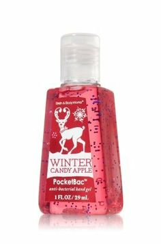 Anti-Bacterial PocketBac® Sanitizing Hand Gel Winter Candy Apple 1fl.oz by Bath  Body Works. $0.25. This pocket-sized bottle contains powerful germ killers and natural ingredients that clean your hands wherever you go, leaving your hands lightly scented with a mouthwatering blend of crisp apple, candied orange and rich cinnamon spice.