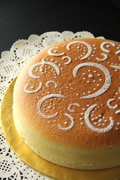 Cotton soft Japanese cheesecake recipe.