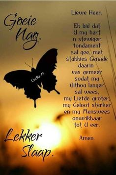 Evening Greetings, Goeie Nag, Goeie More, Afrikaans Quotes, Jesus Art, Good Night Sweet Dreams, Good Night Quotes, Sleep Tight, Day Wishes
