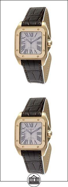 Cartier - Reloj de pulsera mujer, piel, color marrón  ✿ Relojes para mujer - (Lujo) ✿