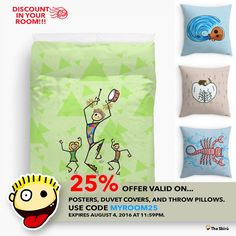 DISCOUNT in your room  25% OFF select products  Offer valid on posters, duvet covers, and throw pillows.  Use code MYROOM25.   Expires August 4, 2016 at 11:59pm. http://www.redbubble.com/people/giuseppelen        #artwork #drawing #art #thesbirù #redbubble #artprint #shopart #children #joy #child #fun #funny #humor #happiness #childhood #smile #kid #illustration #tshirt #t-shirt #apparel #duvet #posters #pillow