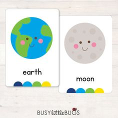 My World Flash Cards AUTOMATIC DOWNLOAD by BusyLittleBugsShop