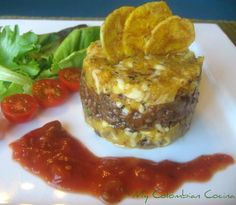 Timbal de Platano or Plantain's Timbale