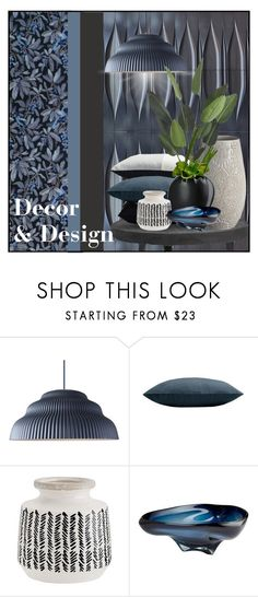 """""""Decor & Design Logo Contest"""" by ollie-and-me ❤ liked on Polyvore featuring interior, interiors, interior design, home, home decor, interior decorating, Sunbrella, Madam Stoltz and Cyan Design"""