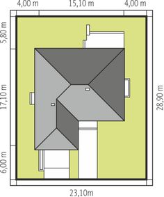 Eco-friendly Contemporary Home Plan - Pinoy House Designs - Pinoy House Designs Contemporary House Plans, Modern House Design, Civil Construction, Newspaper Crafts, Eco Friendly, Home Goods, Flooring, How To Plan, Nice Houses