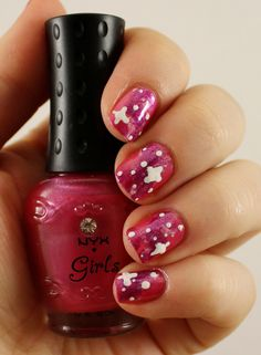 Goodly Nails: Pinkit galaxit