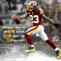 Redskins cornerback DeAngelo Hall on leadership coming from everyone on the team, not just one player.