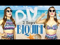 How to: DIY Halter Top Bikini   Stella - YouTube