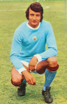 Neil Young of Man City in 1971.