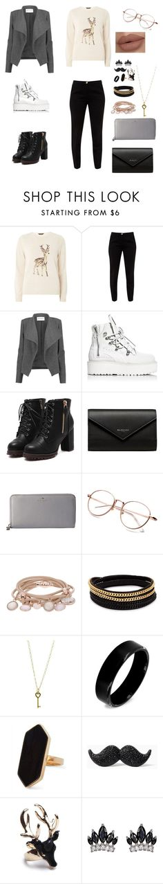 """Style Merry Christmas"" by abduholiqova ❤ liked on Polyvore featuring Dorothy Perkins, Ted Baker, Amanda Wakeley, Puma, Balenciaga, Kate Spade, Marjana von Berlepsch, Vita Fede, Tiffany & Co. and West Coast Jewelry"
