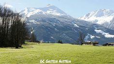 What a view to start the golf season back home Bad Gastein, Austria, Golf Courses, Seasons, Mountains, Nature, Travel, Naturaleza, Viajes