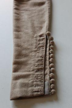 Sleeve detailing