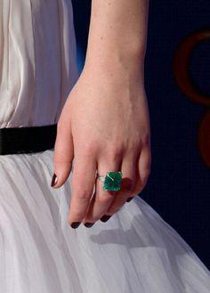 Golden Globe winner Jennifer Lawrence • Jewelry by Neil Lane