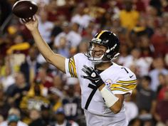Ben Roethlisberger takes it upon himself to lead Pittsburgh Steelers over Washington Redskins in NFL action