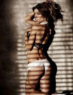 NWT Victoria Secret Small Black  Bombshell Brazilian Fatigue Bling Rhinestone!!