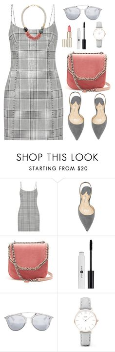 """""""Untitled #2198"""" by ebramos ❤ liked on Polyvore featuring Alexander Wang, STELLA McCARTNEY, Christian Dior and CLUSE"""
