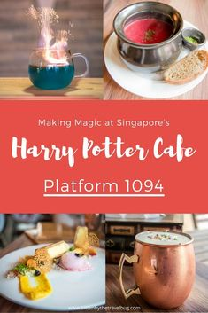 Making Magic at Singapore's Harry Potter Cafe, Platform 1094 - Bitten by the Travel Bug Inspired by J. Rowling's Wizarding World, make your trip to Singapore a little more magical with a visit to the cities Harry Potter cafe, Platform Travel Blog, Foodie Travel, Asia Travel, Eastern Travel, Overseas Travel, Croatia Travel, Hawaii Travel, Travel Advice, Italy Travel