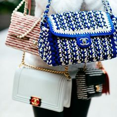 Bag goals to the max! Which is your fave? #ViaPinterest @chanel