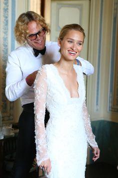 Alessandra Brawn and Jon Neidich's Wedding – Vogue