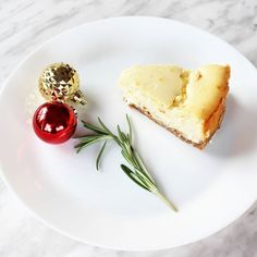 A Delicious Rum & Eggnog Cheesecake For Holiday Entertaining Eggnog Cheesecake, Holiday Drinks, Ginger Snaps, Favorite Holiday, Feta, Rum, Baking, My Favorite Things, Bakken