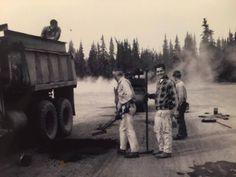 National Asphalt Pavement Association Asphalt Pavement, Road Construction, Working People, Custom Trucks, Timeline Photos, Alaska, Restoration, Park, History