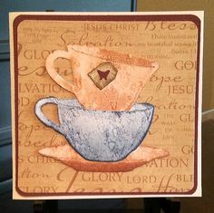 Tim Holtz tea time