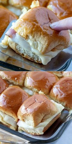 Party Rolls These Hawaiian Party Rolls are stuffed with ham and cheese and have the most delicious glaze that makes them so special.These Hawaiian Party Rolls are stuffed with ham and cheese and have the most delicious glaze that makes them so special. Breakfast Slider, Best Breakfast, Breakfast Recipes, Breakfast Casserole, Breakfast Healthy, Breakfast Ideas, Breakfast Snacks, Breakfast Bake, Monte Cristo Sandwich