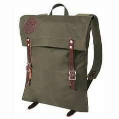 Scout Pack - Backpack - School Bags - Backpacks & Bags - School & Campus :: Duluth Pack :: Made in the USA :: Quality leather and canvas luggage, backpacks, camping, and outdoor gear, Duluth Pack, Cool Backpacks, Canvas Backpacks, Everyday Bag, Backpack Bags, Tote Bags, Canvas Leather, School Bags, Luggage Bags