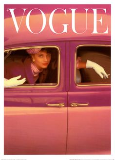 Norman Parkinson Vogue Cover, Autumn Fuchsia painting is shipped worldwide,including stretched canvas and framed art.This Norman Parkinson Vogue Cover, Autumn Fuchsia painting is available at custom size. Vogue Vintage, Capas Vintage Da Vogue, Vintage Vogue Covers, Vintage Fashion, Classic Fashion, High Fashion, Steampunk Fashion, Gothic Fashion, Vintage Clothing