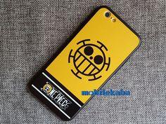 国民アニメワンピースone pieceのiPhone7、iPhone8ケース。人気キャラクター死の外科医ラファルガー·ローのハート海賊団ロゴで個性、カッコイイ!ワンピースのファンなら、是非!