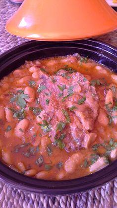 Mijoté d'haricots coco aux oignons et à la tomate - Plaisir Culinaire Algerien