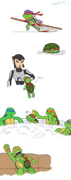 Little Raphie is just too cute. I know plastrons dont move xD but I wan. If Raph was a little shit part 2 Ninja Turtles Art, Teenage Mutant Ninja Turtles, Turtle Tots, Dracula, Tmnt Girls, Tmnt Comics, Tmnt 2012, Cartoon Shows, Fan Art