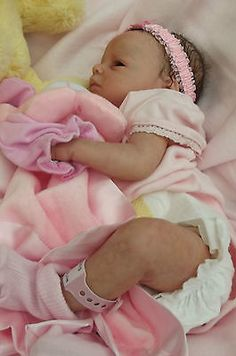 Gorgeous true to life reborn baby girl *Ava* from Hollyberry reborn babies in Dolls & Bears, Dolls, Clothing & Accessories, Artist & Handmade Dolls Life Like Baby Dolls, Life Like Babies, Real Baby Dolls, Realistic Baby Dolls, Cute Baby Dolls, Newborn Baby Dolls, Cute Babies, Bb Reborn, Reborn Child