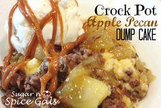 Spice Gals: Crock Pot Apple pie Dump Cake
