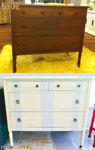 The Bright Painted Furniture Movement {Inspiration} | Picklee
