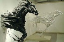 Sayaka Ganz- awesome sculptures made from reclaimed objects