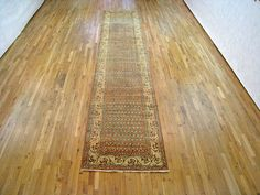 """Persian: Floral 16' 4"""" x 3' 4"""" Antique Saraband at Persian Gallery New York - Antique Decorative Carpets & Period Tapestries"""