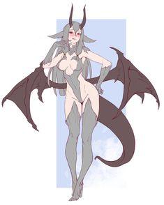 Alien dragon girl