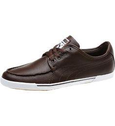 Puma - Benecio Moccasin Toe Sneakers, chocolate brown $70.00
