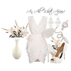 An All White Affair!, created by ageorge-23 on Polyvore